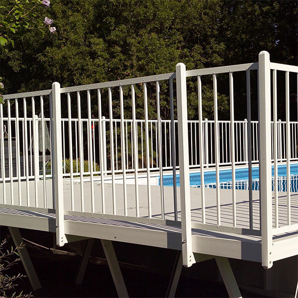 Decks Fences Premium Aluminum Build